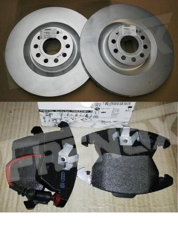 Kit Discos y Pastillas VW TIGUAN 2.0 TSI