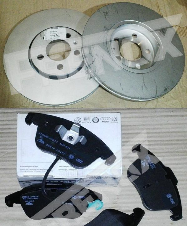 Kit Discos y Pastillas OEM VW PASSAT 2.0 TSI
