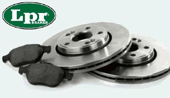 Kit Discos y Pastillas LPR AUDI A6 3.0 TFSI